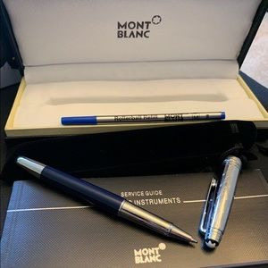 Montblanc Pen With Extra Ink New